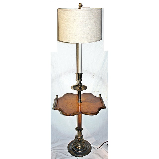 Traditional Floor Table Lamp - Image 2 of 7