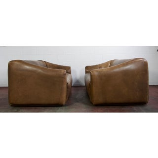 Pair of De Sede Ds 47 Leather Sofa Preview