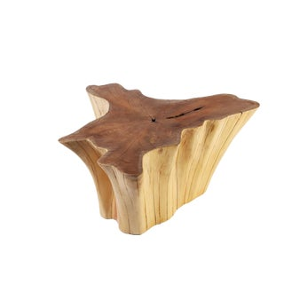 Organic Modern Star Teak Root Coffee Table For Sale