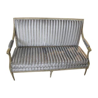 18th Century Swedish Settee For Sale