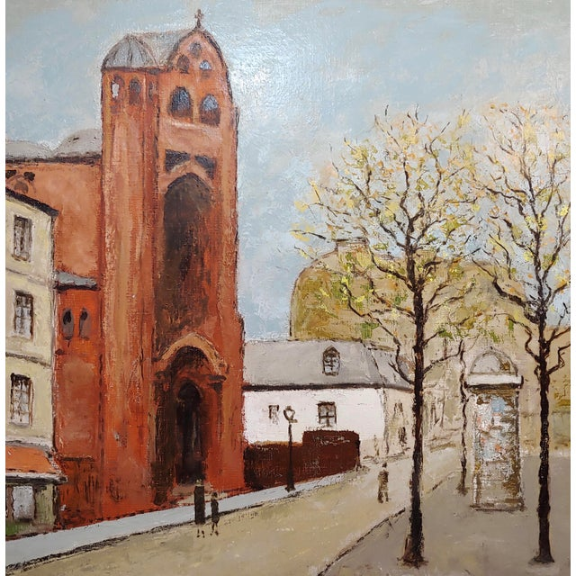 Louis Peyrat -Paris Street Scene - Oil Painting For Sale - Image 4 of 11