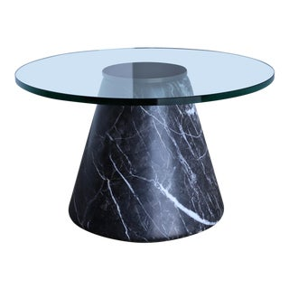 1980s Lodovico Acerbis and Giotto Stoppino Marble Occasional Table For Sale