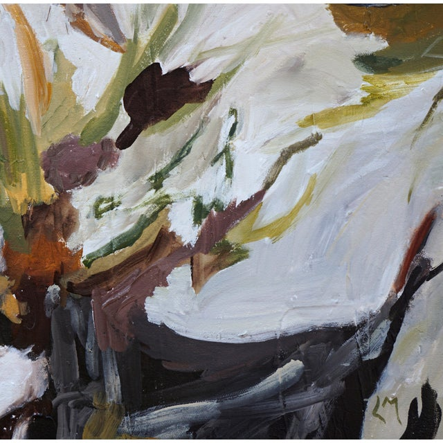 """""""Wild World"""" Abstract Landscape Painting by Laurie MacMillan, Framed For Sale In Los Angeles - Image 6 of 7"""