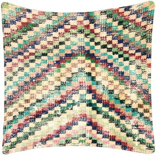 "Nalbandian - Turkish Art Deco Pillow - 19"" X 19"" For Sale"