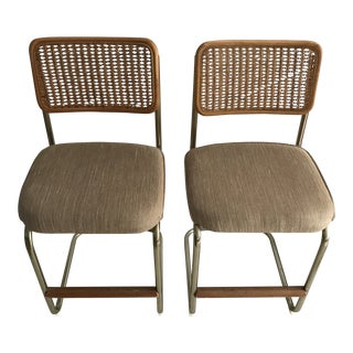 1960s Bauhaus Mid-Century Modern Daystrom Cantilever Barstools - a Pair For Sale
