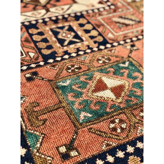 "Textile Vintage Persian Karajeh Runner Rug - 2'8""x9'7"" For Sale - Image 7 of 13"