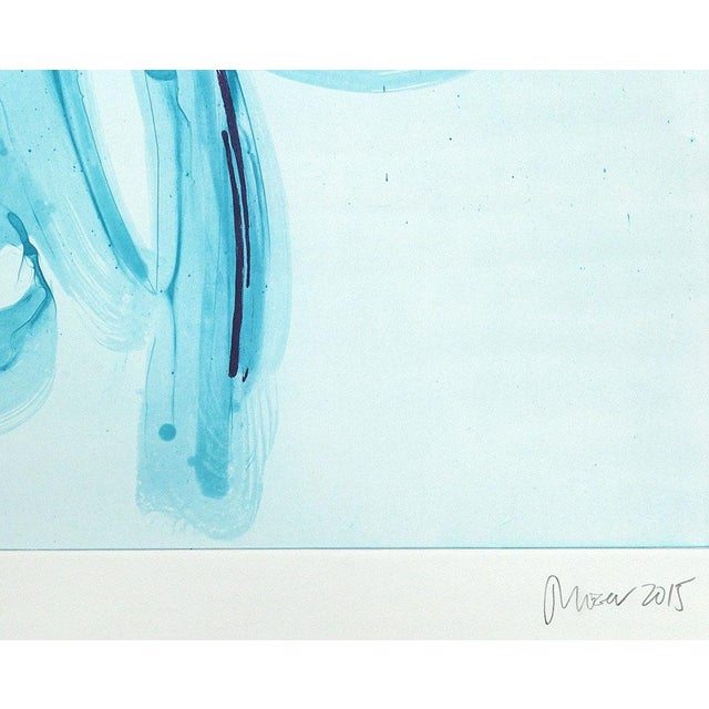 """Abstract Jill Moser """"Coastlines 1"""" Print For Sale - Image 3 of 4"""