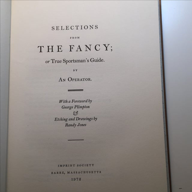 """Traditional """"The Fancy"""" Book For Sale - Image 4 of 10"""