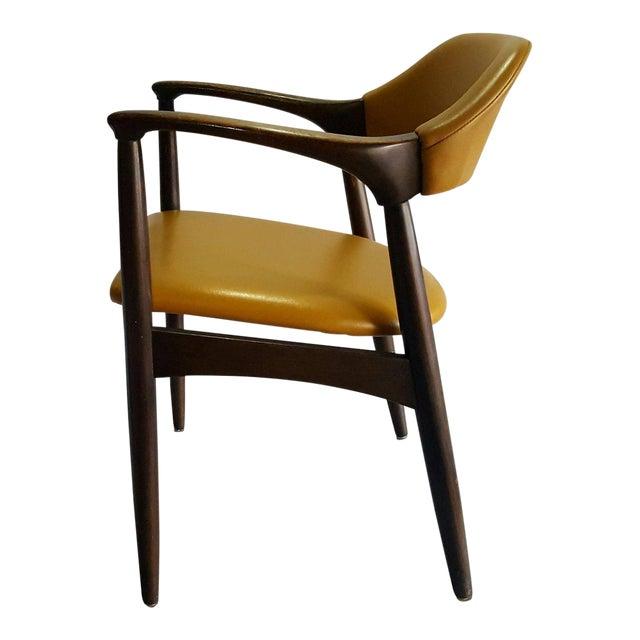 Danish Modern Teak Desk Chair - Image 1 of 5