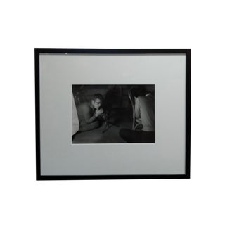 Roy Shatt - James Dean W/ Rolleiflex-Original 1954 Silver Gelatin Photograph For Sale
