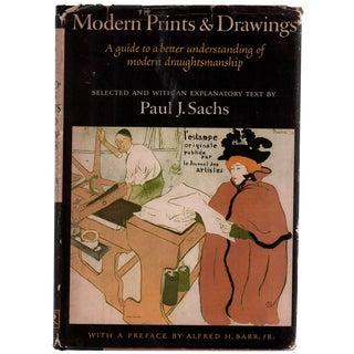 """1954 """"Modern Prints & Drawings"""" Book"""