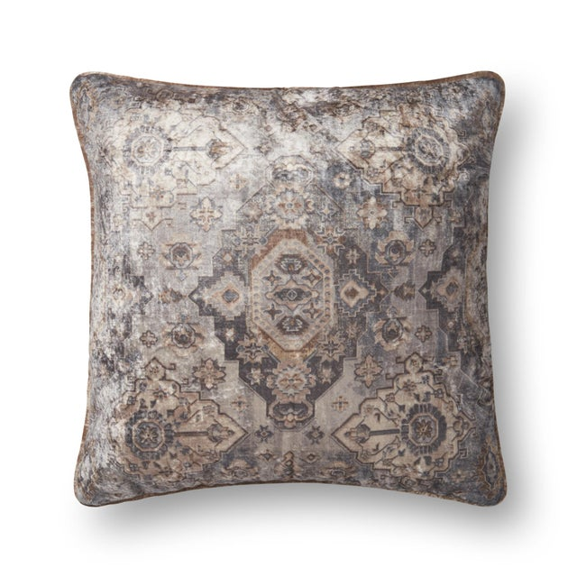 Moroccan Inspired Patterned Pillow from Kenneth Ludwig Home For Sale In Chicago - Image 6 of 6