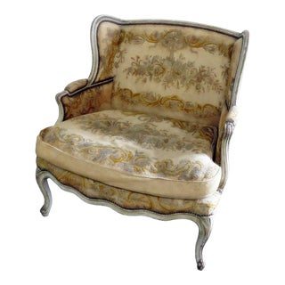 Louis XVI Style Bergere For Sale