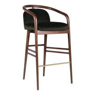 Green Essex Bar Stool For Sale