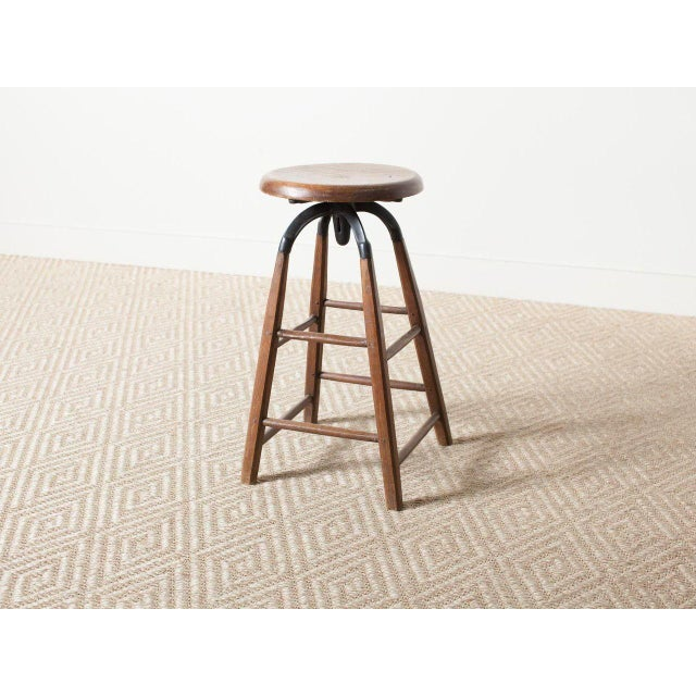 Vintage Atelier Stool For Sale - Image 6 of 6