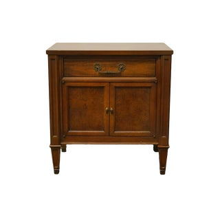 """Century Furniture Italian Provincial 23"""" Cabinet Nightstand For Sale"""