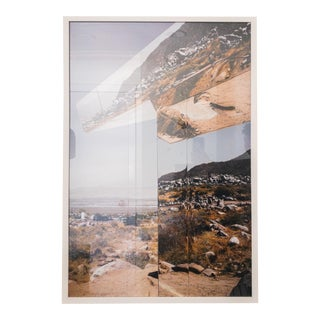 """""""Desert Reflections"""" Contemporary Landscape Limited Edition Print, Framed For Sale"""
