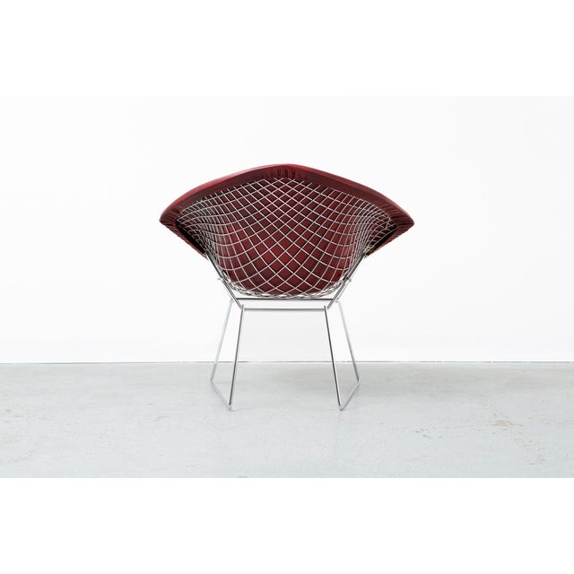 Mid-Century Modern Diamond Bertoia Chair For Sale - Image 3 of 11