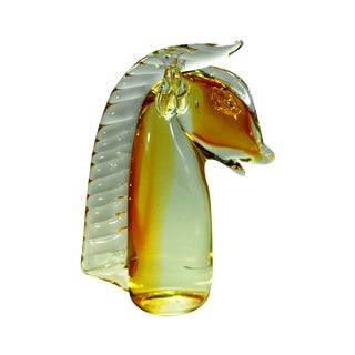 Murano Glass Horse Head