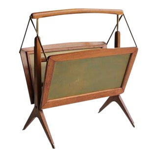 Mid-Century Danish Magazine Rack