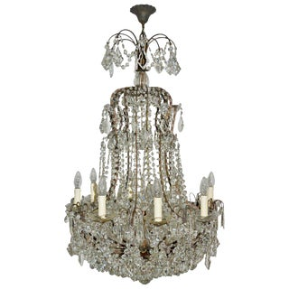 Italian Florentine Chandelier For Sale