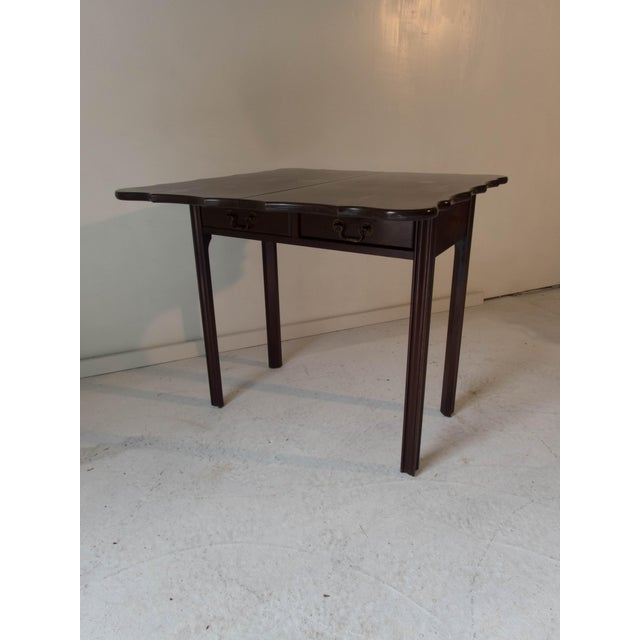 Vintage Mahogany Game Table - Image 7 of 7