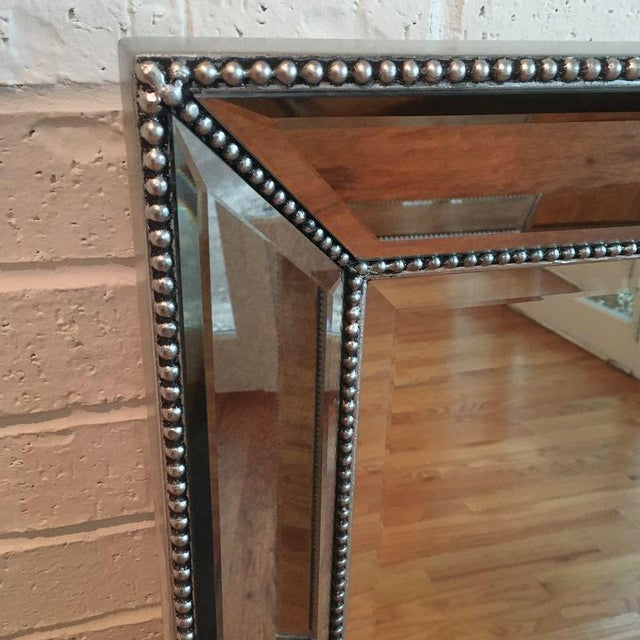 Restoration Hardware Venetian Beaded Mirror - Image 6 of 8