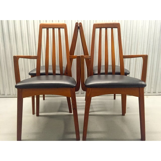 Svegards Marka Teak Dining Chairs - Set of 4 - Image 3 of 11