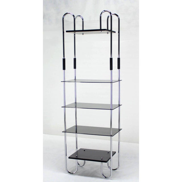 Mid-Century Bauhaus Style Etagere For Sale - Image 10 of 11