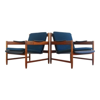 Mid Century Modern Galloway's of Tampa Arm Chairs- A Pair For Sale