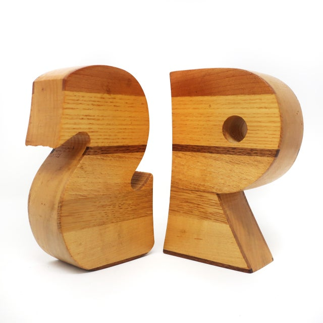 Mid-Century Modern Vintage Handmade S&p Salt and Pepper Shakers For Sale - Image 3 of 7