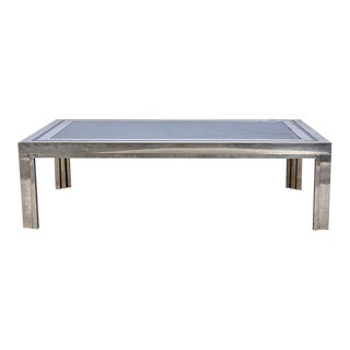 1950's French Steel Coffee Table For Sale