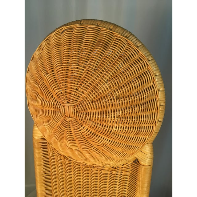 1980s Vintage Rattan Chairs - a Pair For Sale - Image 10 of 12