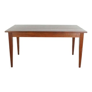 Room & Board Wooden Dining Table For Sale