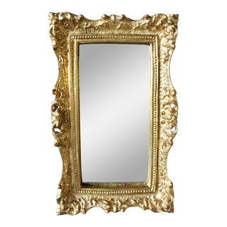 Vintage Florentine Gilt Mirror For Sale