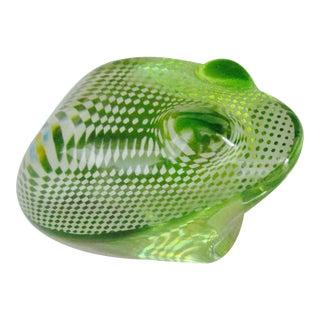 Palatnik Brazil Lucite Frog Modernist Op Art Sculpture For Sale
