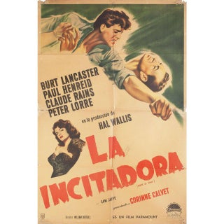 Rope of Sand 1949 Argentine Film Poster For Sale