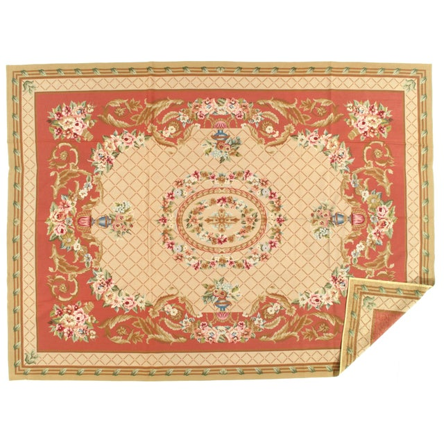 Fine Lamb's wool. This would be beautiful in a dining space or large entryway - add some ethnic elegance to your home!...