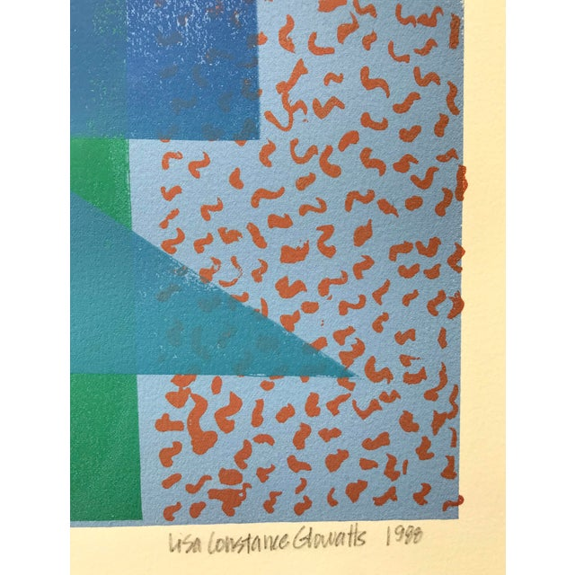 Sol LeWitt Vintage Abstract Silk Screen Original Art For Sale - Image 4 of 8