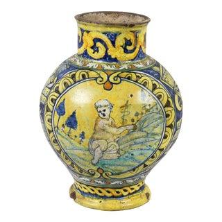 Roman Majolica Pot For Sale