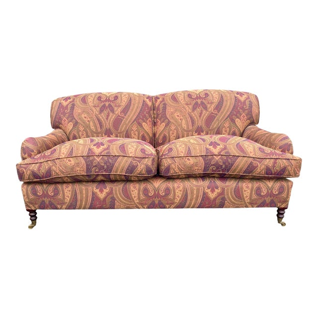 George Smith Standard Arm Sofa For Sale