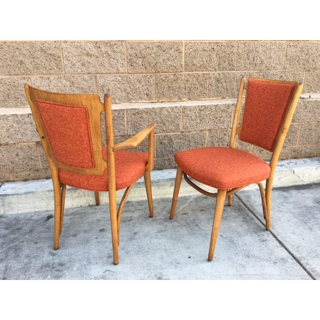 Mid Century Sculptural Dining Chairs - 6 - Image 4 of 5