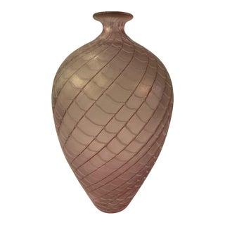 1970's Bertil Vallien for Kosta Boda 'Artistkok' Artichoke Vase For Sale