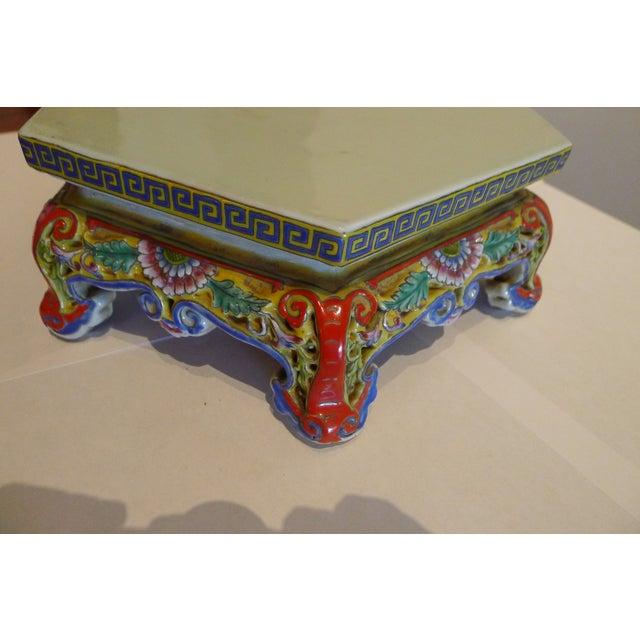 Chinese Porcelain Famille Verte Wedding Lantern For Sale - Image 4 of 12
