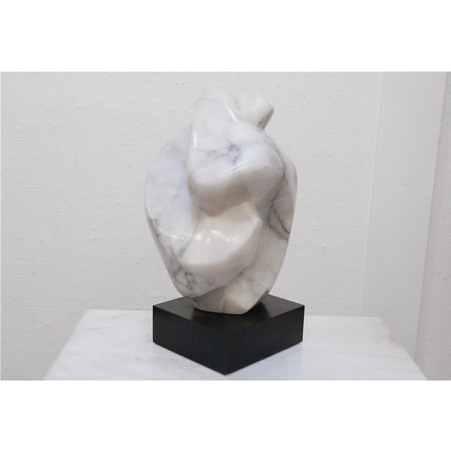 Stone Contemporary Alabaster Sculpture For Sale - Image 7 of 7
