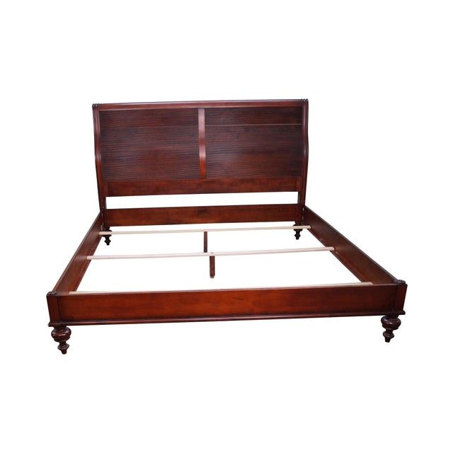 Ethan Allen British Classics King Size Kingston Bed For Sale