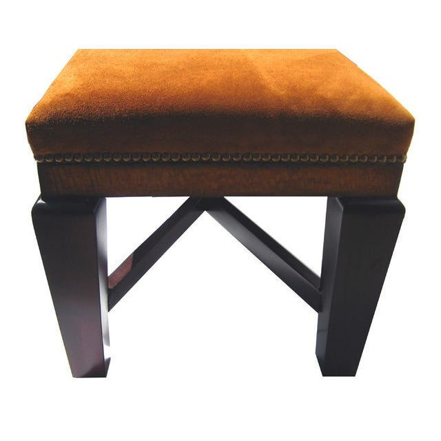 Bench in Polo Ralph Lauren Nubuck Suede Leather - Image 3 of 5