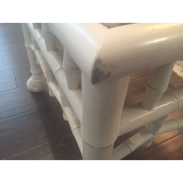 Chinoiserie Chic Hollywood Regency Stools - Pair - Image 10 of 11
