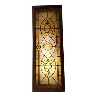 1900's Stained Glass Window For Sale