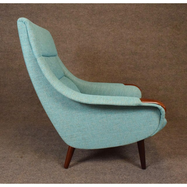 1960s Vintage Danish Modern Lounge Chair For Sale In San Diego - Image 6 of 11